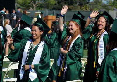 Pearls of Hope Scholarship recipients at graduation